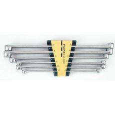 Набор ключей накидных FORCE удлиненных 6 предметов 10-19 мм (50622), фото 1