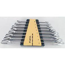 Набор ключей рожковых FORCE 8 предметов 6-22 мм (5084), фото 1