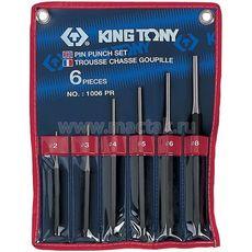 Набор выколоток 6 предметов KING TONY 1006PR, фото 1