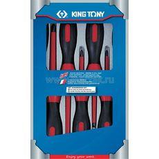Набор отверток в коробке диэлектрические 7 предметов KING TONY 30617MR, фото 1