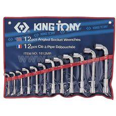 Набор торцевых L-образных ключей 12 предметов KING TONY 1812MR 8-24 мм, фото 1