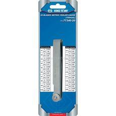 Набор щупов для проверки зазоров, 0,05-1 мм, 20 предметов KING TONY 77340-20, фото 1