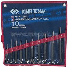 Набор выколоток бородков кернеров 10 предметов KING TONY 1010PR, фото 1