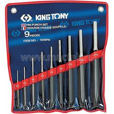 Набор выколоток 9 предметов KING TONY 1009PR, фото 1