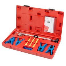 Набор заглушек для патрубков с металлическими наконечниками зажим кейс 12 предметов МАСТАК 102-10002C, фото 1