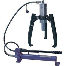 Съёмник подшипников гидравлический 30 т 3 предмета МАСТАК 104-19330 до 550 мм, фото 1