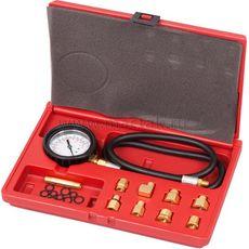 Манометр для измерения давления масла МАСТАК 120-20020C 0-7 бар, комплект адаптеров, фото 1