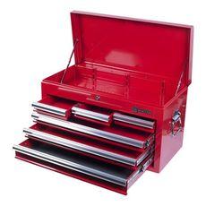 Ящик инструментальный МАСТАК 511-06570R  6 полок красный, фото 1