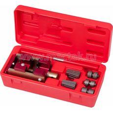 Приспособление для развальцовки тормозных трубок, 4,75, 6 мм, кейс, 7 предметов МАСТАК 102-10046C, фото 1
