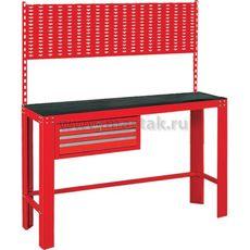 Верстак инструментальный МАСТАК 541-11500R ящик, задняя панель, красный, фото 1