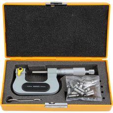 ASIMETO 142-03-0 Микрометр универсальный со сменными наконечниками 0.01 мм, 50-75 мм, фото 1