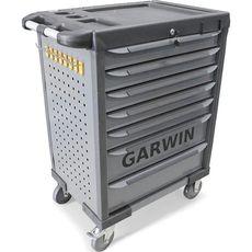 GARWIN GTT-01D07T Тележка инструментальная, 7 полок, серая, фото 1