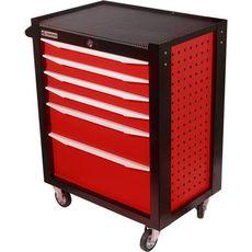 GARWIN 001016-3000 Тележка инструментальная серии Standart 6 полочная красная, фото 1
