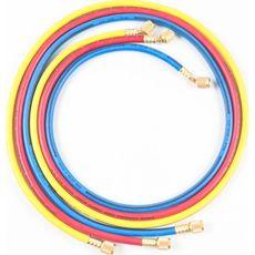 """Licota ATL-9047B Шланги для подключения системы кондиционирования к заправочной установке 1/4"""" SAE, фото 1"""
