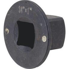 "Licota AAD-M680 Переходник магнитный плоского типа 3/4"" х 1"", фото 1"