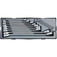 Набор ключей накидных FORCE 12 предметов 15 град.  10-32 мм (T51226A), фото 1