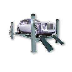 Электрогидравлический четырехстоечный подъемник г/п 4500 кг. KraftWell KRW4.5, фото 1