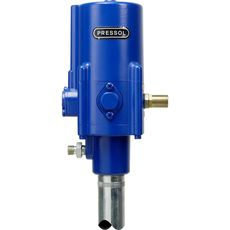 PRESSOL 18716051 Пневматический насос для смазки 50:1 Длина трубки 1000 мм, для 200 кг емкостей, фото 1
