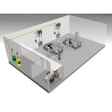 Автоматизированная стационарная cистема раздачи и учета масла Atis HPMCO-04-2, фото 1