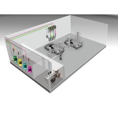 Автоматизированная стационарная cистема раздачи и учета масла Atis HPMCO-48, фото 1