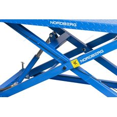 Подъемник для мото и квадроциклов с пневмоприводом, г/п 680 кг NORDBERG N4M4, фото 3