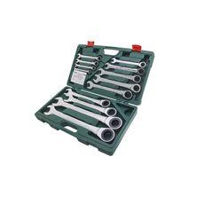 Комплект трещоточных комбинированных ключей, 8-32 мм, 13 шт Станкоимпорт 166513MB, фото 1