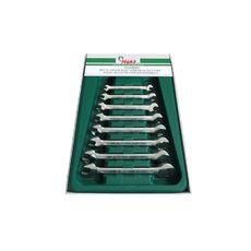Набор рожковых гаечных ключей Hans 16596M, фото 1