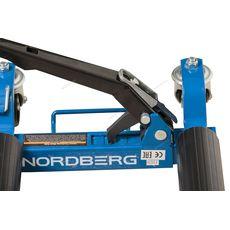 Домкрат подкатной механический для перемещения авто NORDBERG N3S1, фото 5