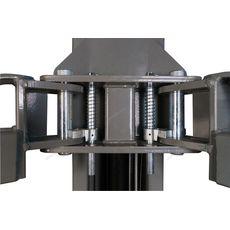 Подъемник 2-х стоечный ассиметричный с верхней синхрониз. г/п 4,5т NORDBERG N4122H-4,5T_220V, фото 10