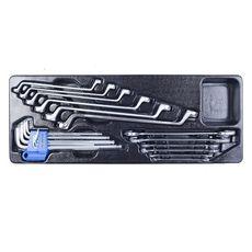 Набор инструментов в ящике 69 предметов KING TONY 901-069MR01 выдвижной, фото 5
