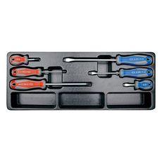 Набор инструментов в ящике 73 предмета KING TONY 901-073MR выдвижной, фото 5