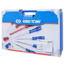 Набор отверток в кейсе 14 предметов KING TONY 35114MR, фото 4
