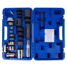 Набор оправок для монтажа и демонтажа сайлентблоков BMW, гидравлический, кейс, 26 предметов МАСТАК 1, фото 2