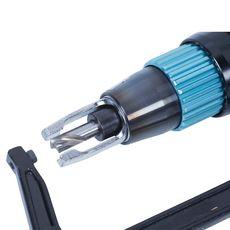 Дрель пневматическая для высверливания отверстий под точечную сварку 8 мм 1600 об/мин. MIGHTY SEVEN, фото 3