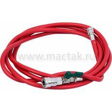 Набор приспособлений для замены тормозной жидкости 6 л комплект крышек адаптеров 15 предметов МАСТАК 102-40005, фото 5