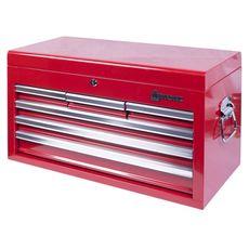 Ящик инструментальный МАСТАК 511-06570R  6 полок красный, фото 3
