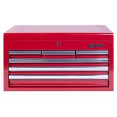 Ящик инструментальный МАСТАК 511-06570R  6 полок красный, фото 4
