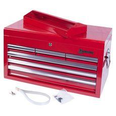 Ящик инструментальный МАСТАК 511-06570R  6 полок красный, фото 5