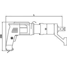 GARWIN 530210-1200 Мультипликатор электрический односкоростной; прямой; 1200 Нм, фото 1