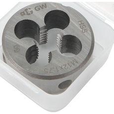 GARWIN GM-DC12175 Плашка M 12x1,75, HSS, DIN 223, 6g, 38x14 мм, фото 2