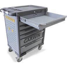 GARWIN GTT-01D07T Тележка инструментальная, 7 полок, серая, фото 2