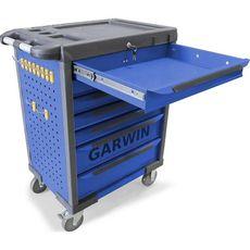 GARWIN GTT-01D07T-B Тележка инструментальная, 7 полок, синяя, фото 2