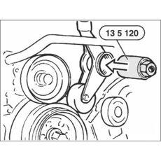 Licota ATA-0515 Съемник шестерни ТНВД 2.5TDS, фото 2