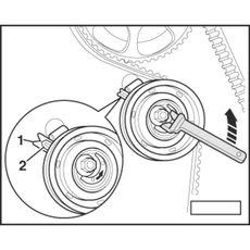 Licota ATA-0390 Приспособление для установки ремня распредвала VAG, фото 2