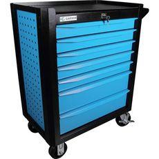 GARWIN 001020-5015 Тележка инструментальная серии Industrial 7 полочная синяя, фото 2
