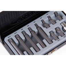 Licota ABS-80006 Набор бит Spline М5-М12 S2, 11 пр., фото 2
