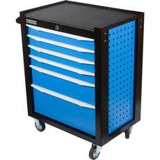 GARWIN 001016-5015 Тележка инструментальная серии Standart 6 полочная синяя, фото 3