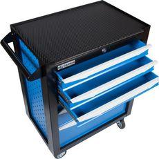 GARWIN 001016-5015 Тележка инструментальная серии Standart 6 полочная синяя, фото 4