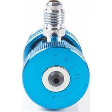 "Licota ATL-9007 Адаптер синий 1/4"" для двухвентильного манометрического коллектора, фото 2"