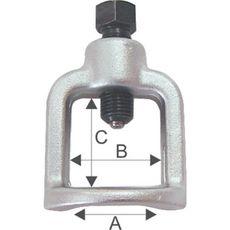 "Licota ATC-2202 Съемник шаровых соединений ""стакан"" 18 мм, фото 1"